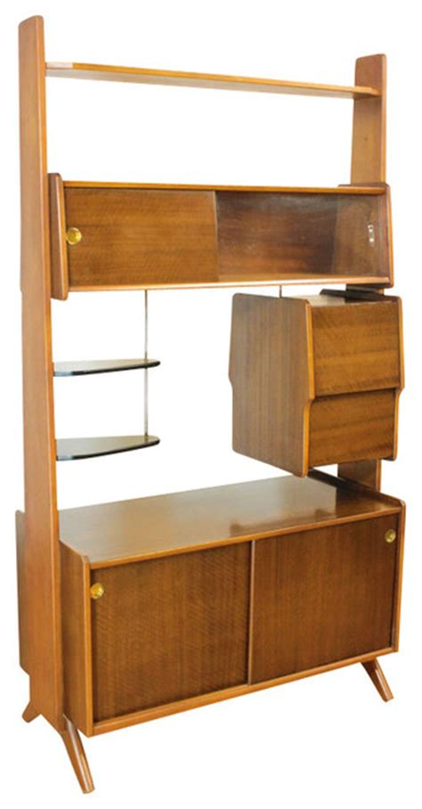 Upright Bar Cabinet Consigned Retro Upright Drinks Cabinet Bar Or Room Divider Mid Century Midcentury Screens