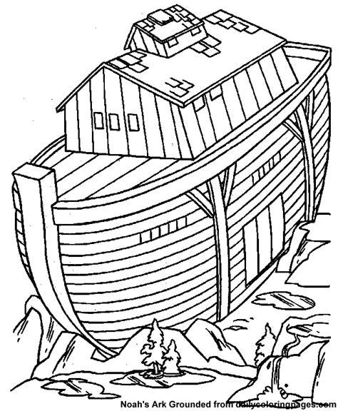 preschool coloring pages noah s ark noah s ark coloring page 06 kid stuff pinterest