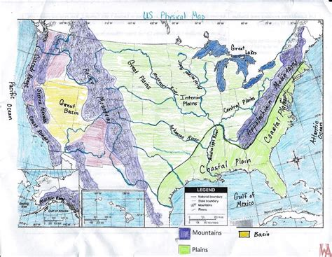 map of usa with rivers and mountains river basin map of the usa whatsanswer