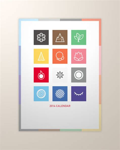 Calendar Design 25 Amazing Calendar Designs For 2014 Creative Bloq