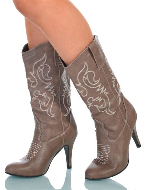 womens cowboy boots high heel s brown high heel boots cowboy costume shoes