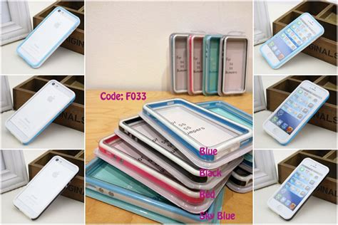 Iphone 5 5s Premium Soft Casing Cover Bumper Sarung Armor Murah 1 iphone 5 5s 5c 4 4s casing screen protector and