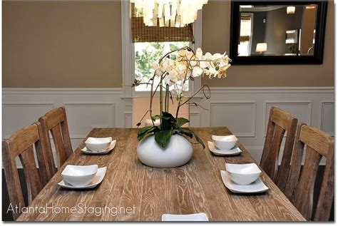How To Stage A Dining Room Table by Should You Set Your Table When Selling Your Home