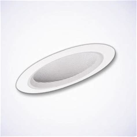 halo 6 in white recessed lighting with sloped ceiling