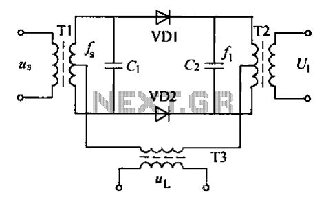 balanced diode mixer schematic audio mixer circuit page 2 audio circuits next gr