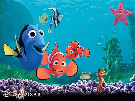 themes in disney films central wallpaper finding nemo 3d movie poster hd wallpapers