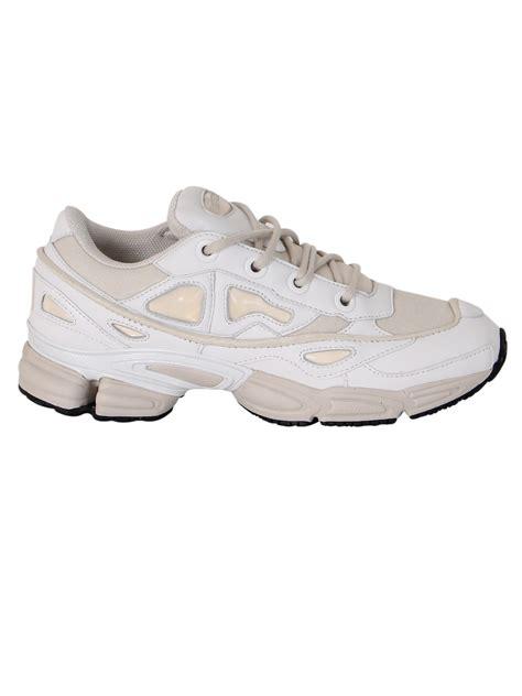 adidas by raf simons adidas by raf simons ozweego iii white talc sneakers white s