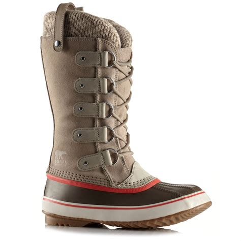 womans sorel boots sorel joan of arctic knit boots s evo