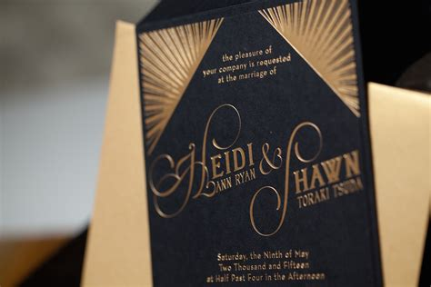 Deko Wedding by Deco Wedding Invitations Heidi And Shawn Paper And Home