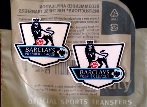 Ps Pro Custom Number White Premier League 2013 17 For Original Jersey baby infant 2013 14 15 16 fa premier league official sporting id ps pro football badge patch set