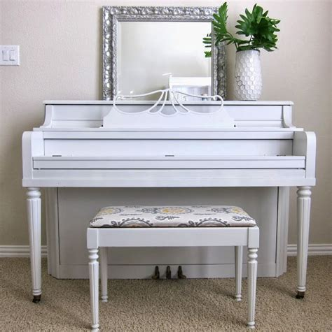 piano bench craigslist best 20 white piano ideas on pinterest painted pianos