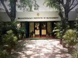 Bharathidasan Mba Fees by Bharathidasan Institute Of Management Tiruchirapalli Bim