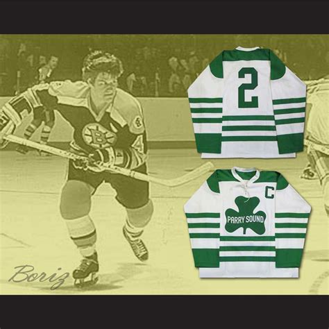 Play Store Order By Rating Bobby Orr Parry Sound Shamrocks Hockey Jersey Sewn New Any