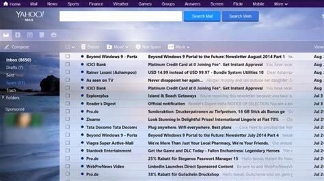 gmail themes free download windows customize yahoo mail with new themes