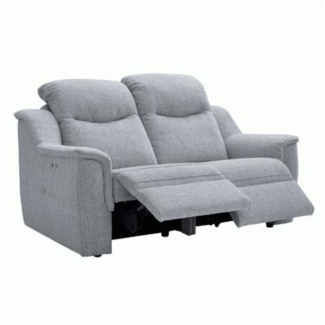 2 seater power recliner sofa leather 2 seater power recliner sofa g plan firth collection