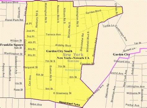Garden City New York File Garden City South Ny Map Gif Wikimedia Commons