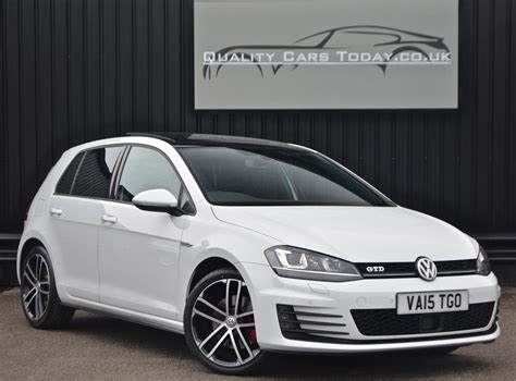 white volkswagen golf used 2015 volkswagen golf mk7 gtd dsg for sale in south