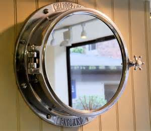 porthole mirrored medicine cabinet chadder co mirrors and mirror cabinets traditional