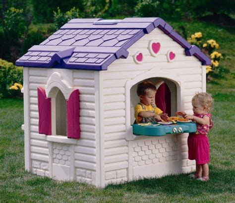 Cool Looking Beds outdoor playhouse with a kitchen encourage your child s