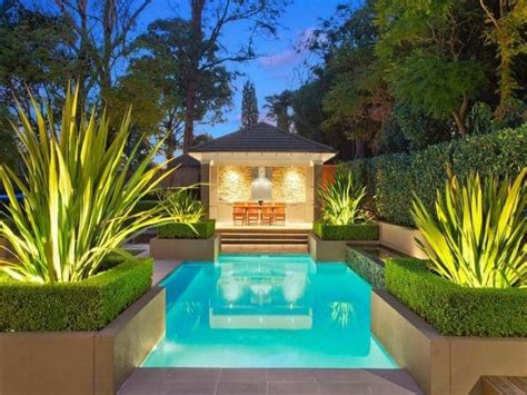 Backyard Pool Lighting 30 Beautiful Swimming Pool Lighting Ideas