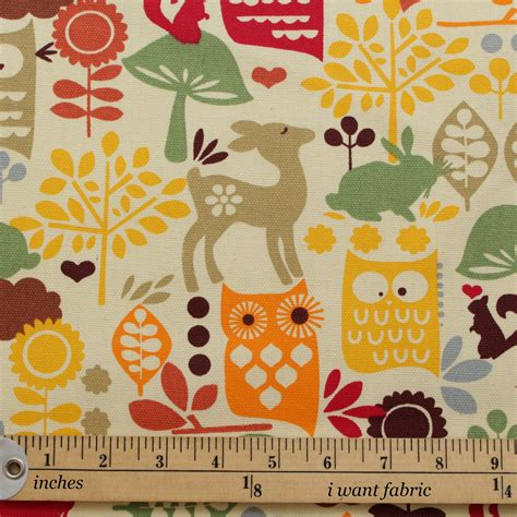 childrens upholstery fabric 100 heavy cotton panama printed childrens curtain cushion