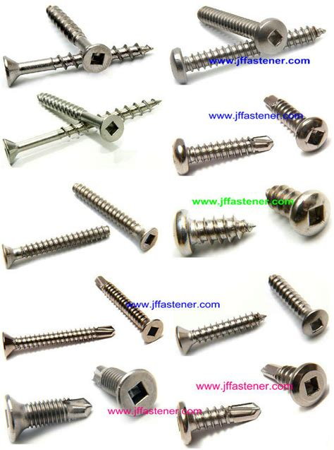 Decking Detail by Square Drive Decking Screws China Square Drive Self