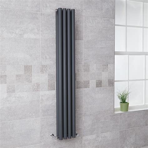 better bathrooms radiators langham 1600 x 225 double panel anthracite radiator