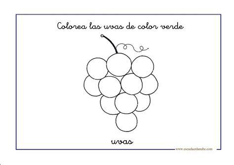 imagenes de uvas a color para imprimir uvas