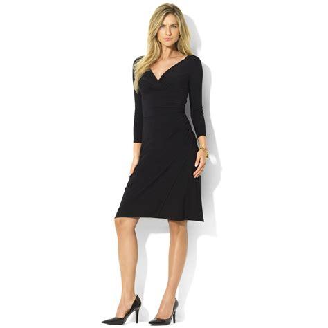 Lawren Dress by ralph sleeve faux wrap sheath dress