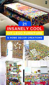 21 insanely cool diy lego furniture and home decor