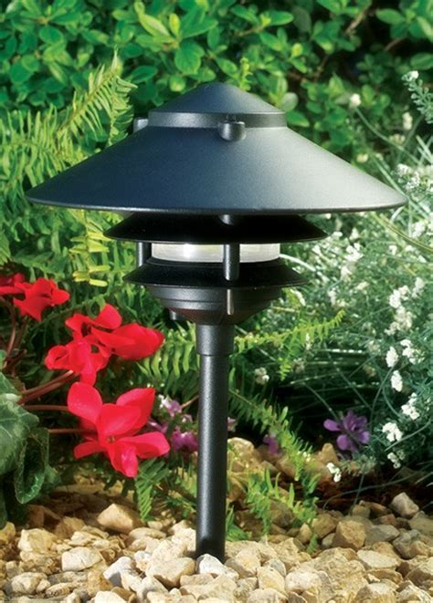 lv pagoda lights landscape lighting  voltage