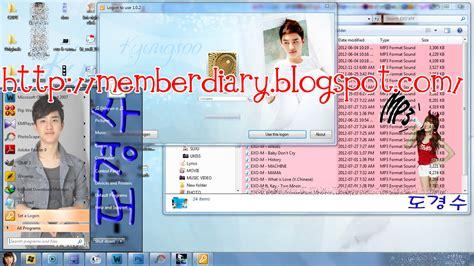 download theme windows 7 exo k free theme for windows 7 update d o exo k windows 7 theme