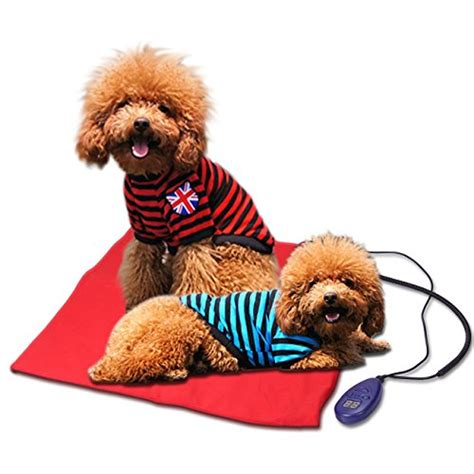 Electric Pets heating pads for pets electric heating pad for dogs cats warming beds pet mat with chew
