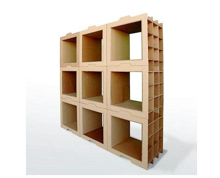 cardboard bookshelf a stylish yet eco friendly furniture