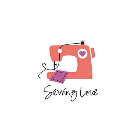 Patchwork Logo - sewing logo sewing machine logo patchwork logo dressmaking