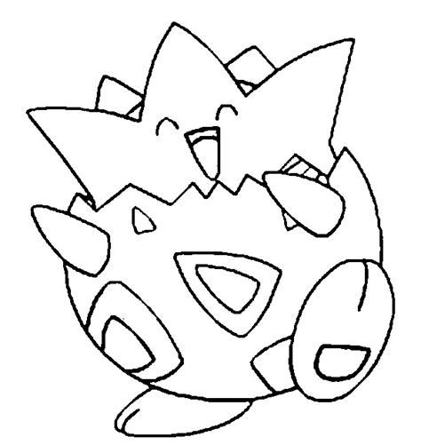 Togepi Pokemon Coloring Pages Coloring Pages Togepi Coloring Pages