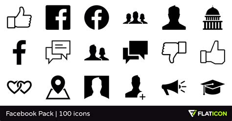 100 departures home and design media kit mad hungry facebook pack 100 free icons svg eps psd png files
