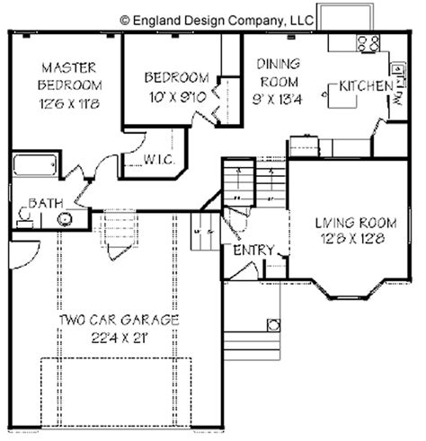 Split Entry House Plans - split foyer house plans split foyer plan 1459 square