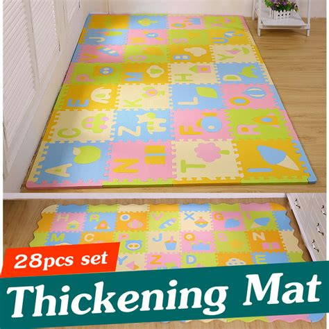 ᐂ28pcs new style children puzzle puzzle mats baby floor