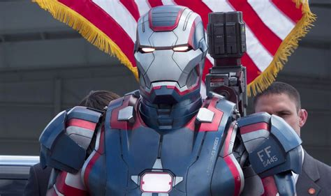 Ironman Patriot Tideway microsoft research gives tony stark a in iron 3