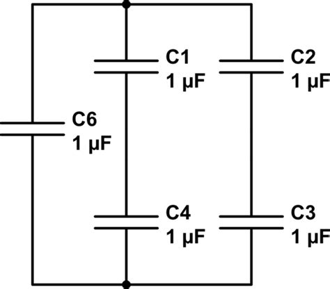 capacitor circuit simplification equivalent simplified capacitor circuit electrical engineering stack exchange
