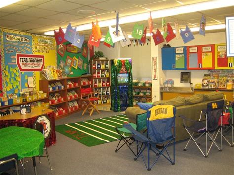 sports themed classroom decorations the 78 best images about creative classroom displays and