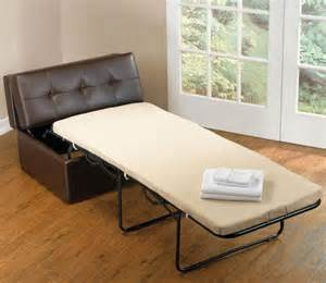 Ottomans That Turn Into Beds Faux Leather Ottoman That Converts Into Bed Whereibuyit