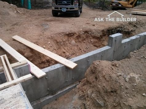 Diy Garage Foundation by Compact Fill Slab Ask The Builder