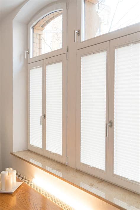 Sichtschutz Fenster Altbau die besten 25 fenster plissee ideen auf