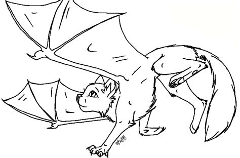 winged cat coloring page demon winged cat free lineart by luvlymystery on deviantart