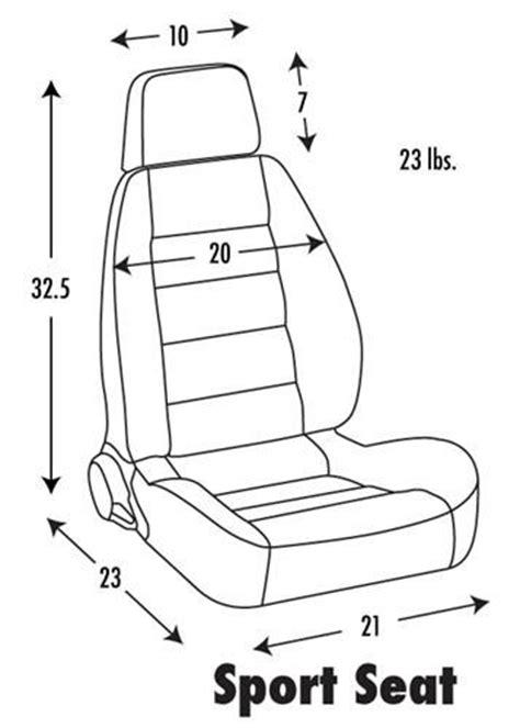 corbeau sport seat dimensions corbeau sport seat dimensions 67 camaro