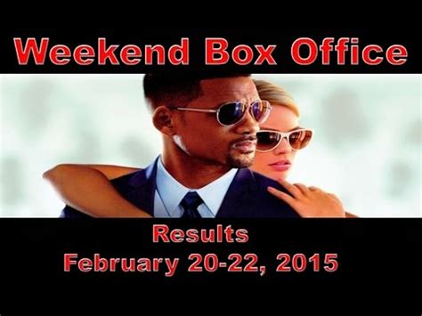 This Weekend Box Office by Weekend Box Office Results February 27 March 1 2015