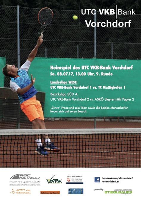 vkb bank banking tennis meisterschaft vorchdorf