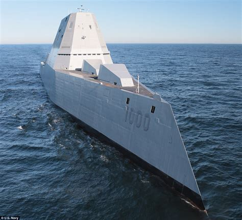 boats online radar us navy s giant destroyer is too stealthy and will be